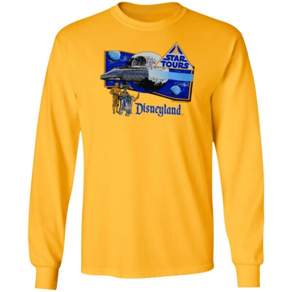 1986 Star Tours Disneyland Shirt Vintage Star Wars Star Tours 80S Disneyland T Shirt Hoodie Sweatshirt
